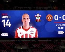 <h4>Oriol Romeu</h4>Saints Spanish midfielder Oriol Romeu